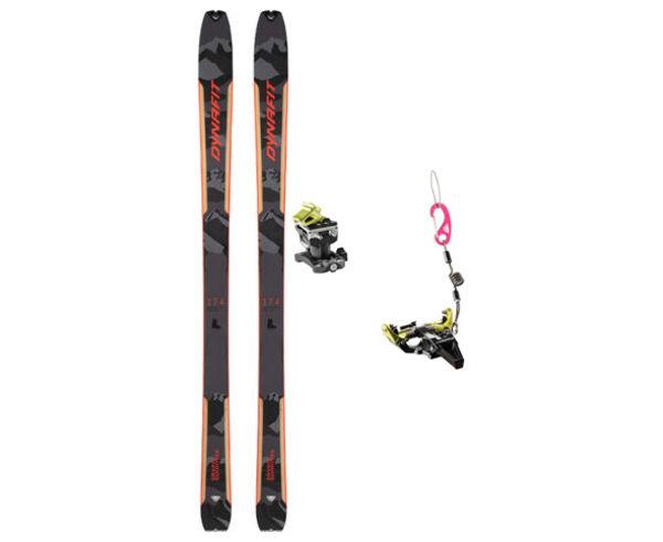 Esquís+Fixacions Marca DYNAFIT Per . Activitat esportiva Esquí Muntanya, Article: SEVEN SUMMITS BLK + SPEED RADICAL.